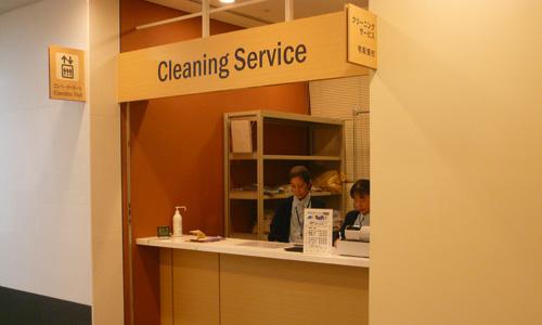 クリーニングサービス